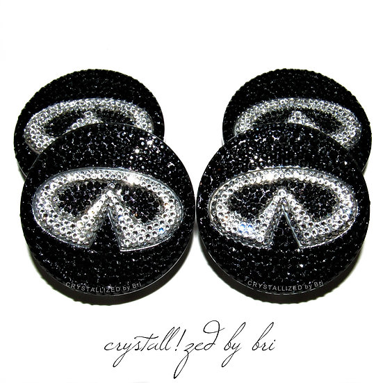 CRYSTALL!ZED Infiniti Center Caps - Set of 4