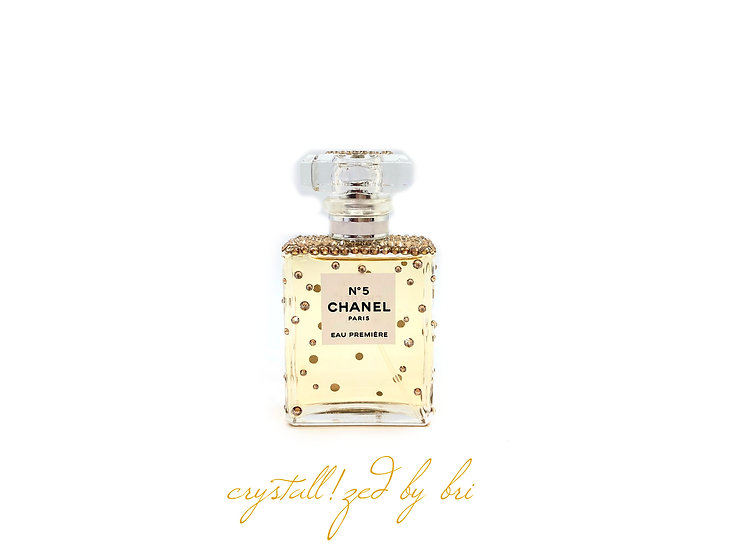 Chanel No. 5 CRYSTALLIZED Perfume Bottle