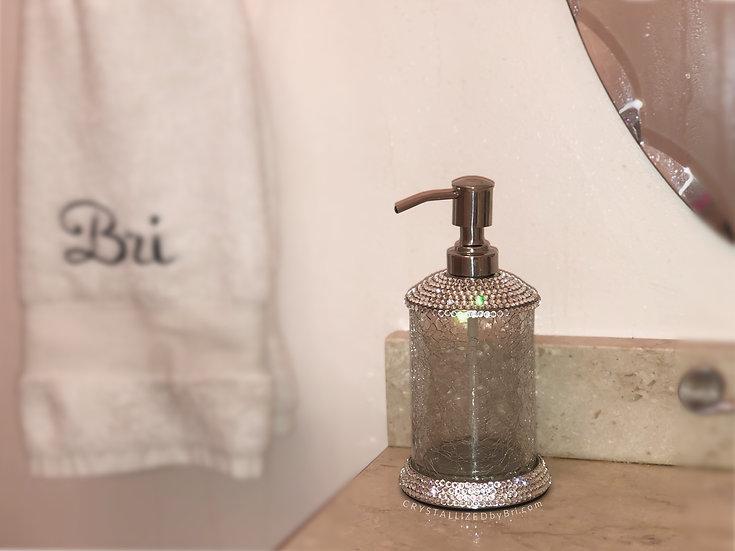 CRYSTALL!ZED Soap Dispenser - Silver