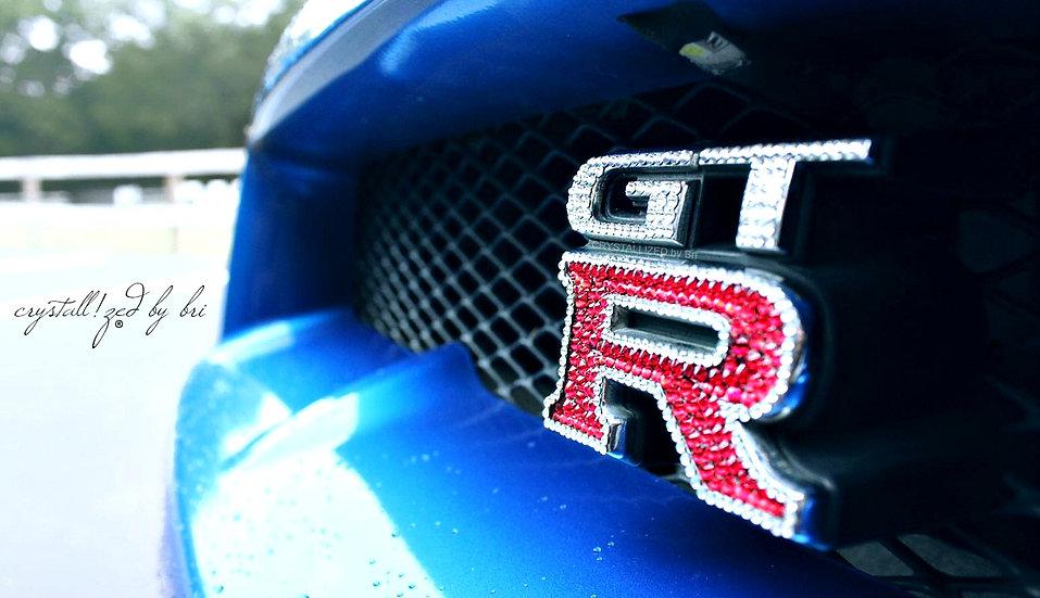 CRYSTALL!ZED Nissan GTR Emblem