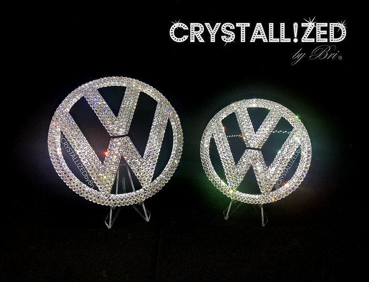 CRYSTALL!ZED VW Emblem - Front or Rear