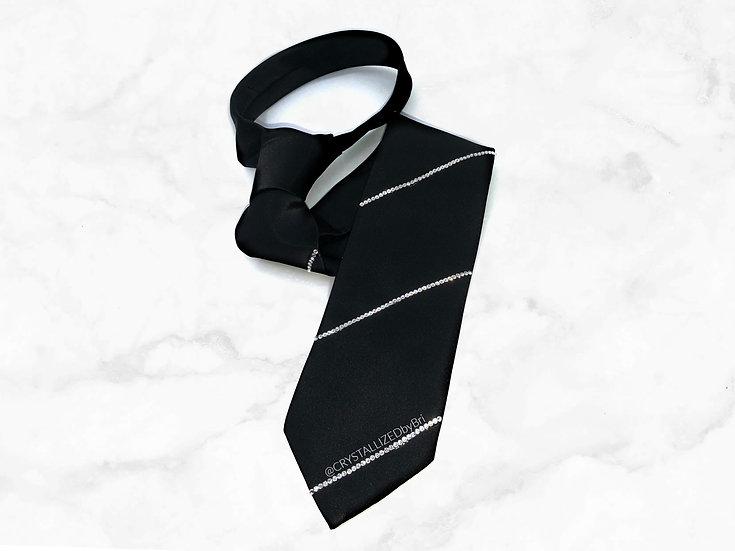 CRYSTALL!ZED Tie - Stripe