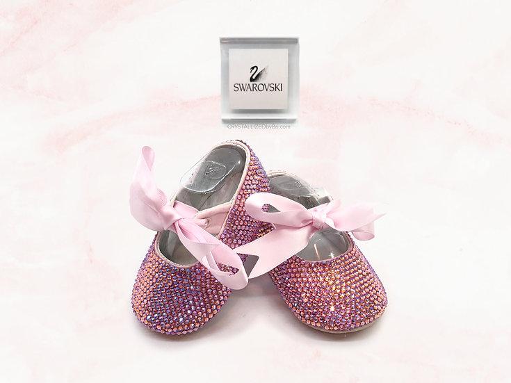 CRYSTALL!ZED Baby Booties - Girls