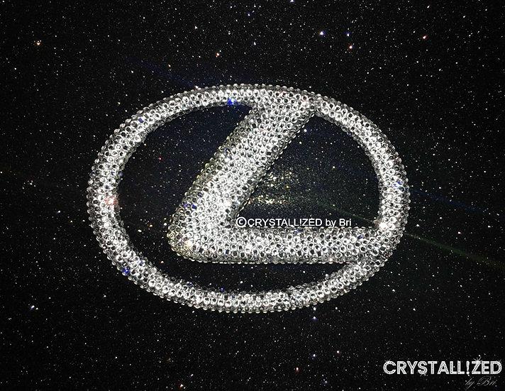 """CRYSTALL!ZED Lexus Emblem - 7.5"""""""
