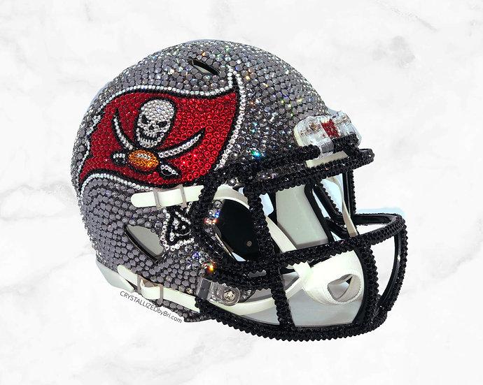 CRYSTALLIZED Football Helmet - Mini