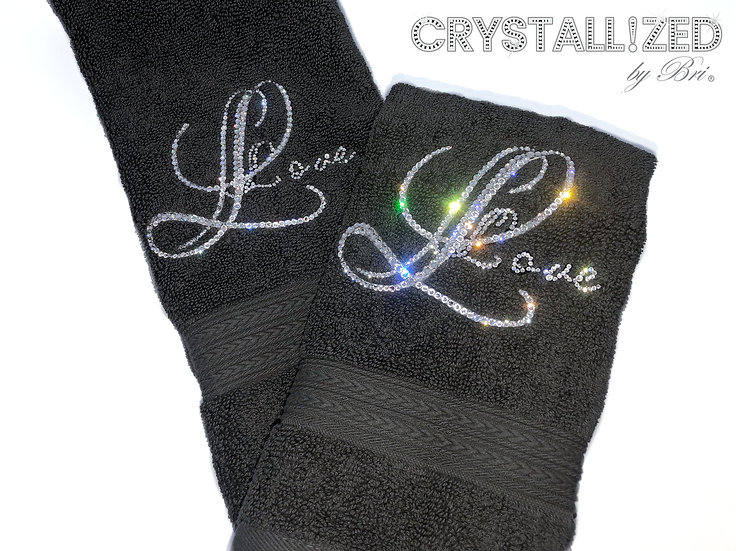 CRYSTALL!ZED Hand Towel - Personalize It!
