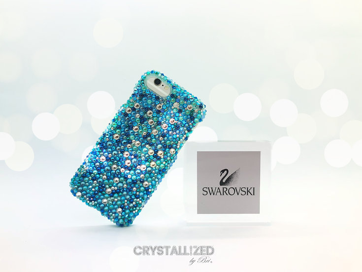Fully CRYSTALLIZED iPhone Case - Mixed Colors & Sizes