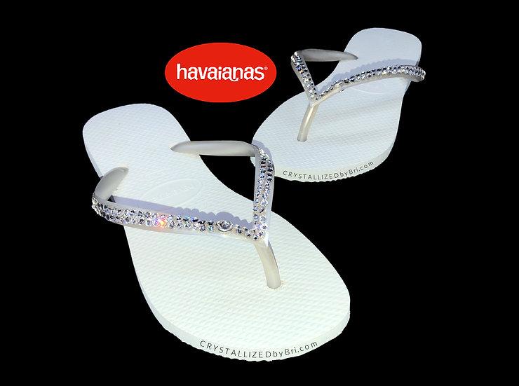 CRYSTALL!ZED Flip Flops - Havaianas