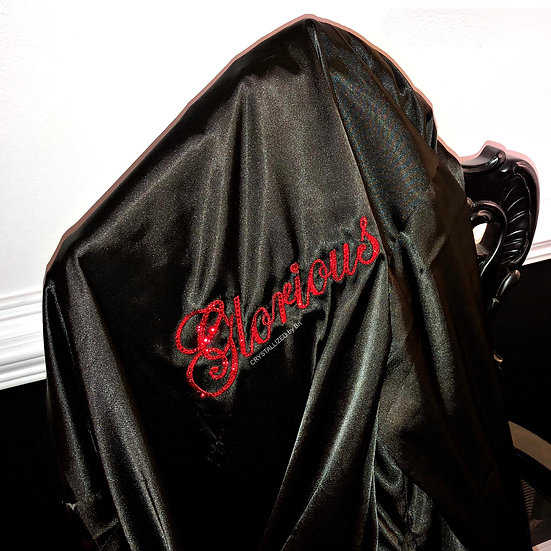 CRYSTALL!ZED Men's Robe - Personalize It!