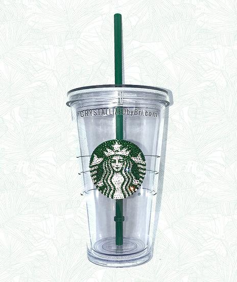 CRYSTALLIZED Starbucks Tumbler - 16oz Grande