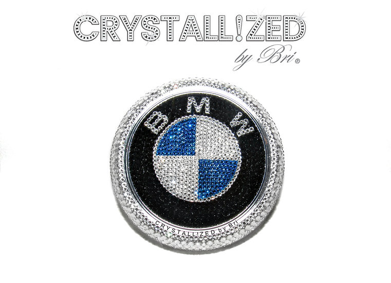 "CRYSTALL!ZED BMW Emblem - 4"""