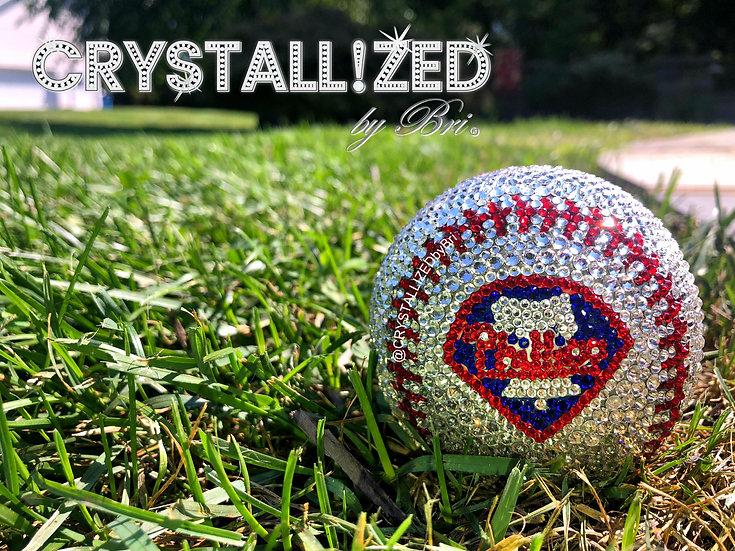 CRYSTALLIZED Full Size Baseball - Any Team!