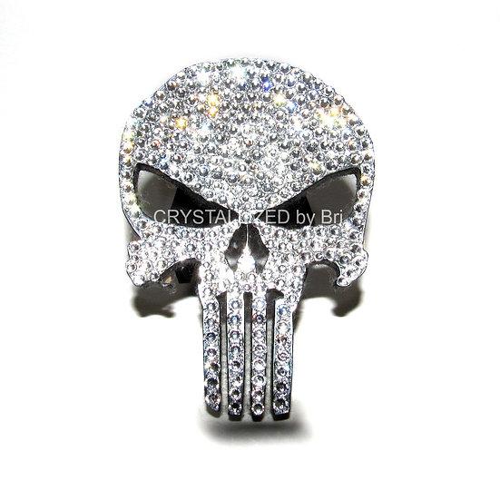 CRYSTALL!ZED 'The Punisher' Skull Emblem