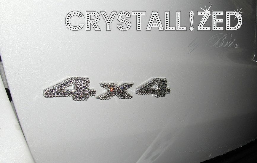 CRYSTALL!ZED 4x4 Emblem - Jeep