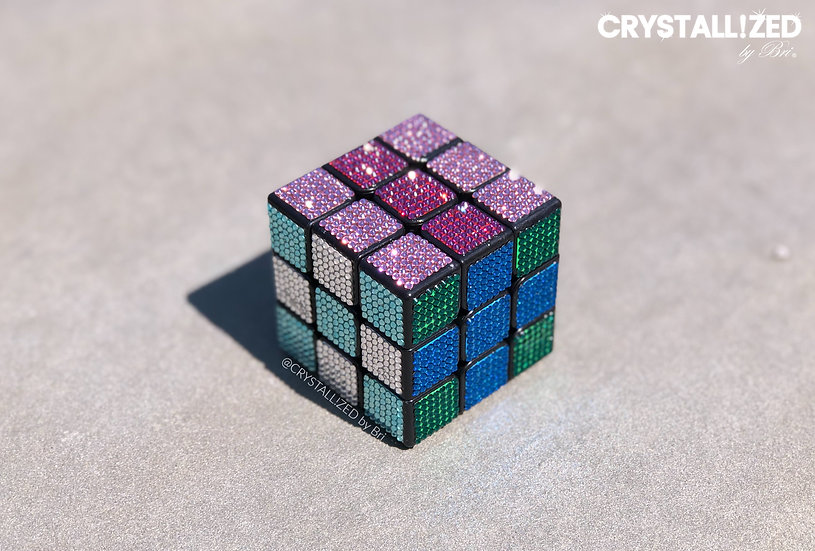 CRYSTALL!ZED Rubik's Cube - Any Colors!