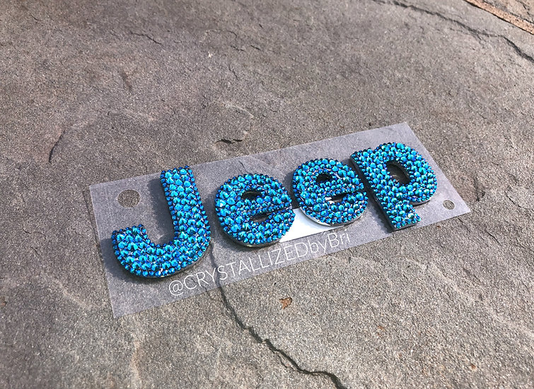 CRYSTALL!ZED Jeep Emblems