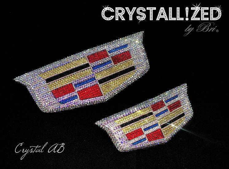 CRYSTALL!ZED Cadillac Emblem - Any Size!