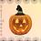 Thumbnail: CRYSTALL!ZED Ceramic Pumpkin - Full Bling