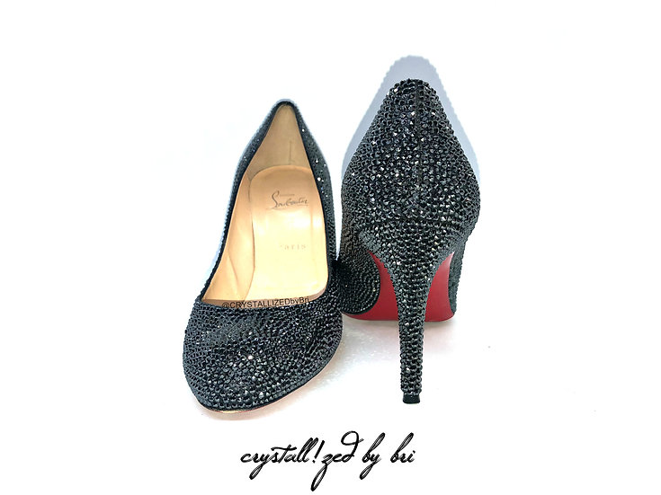 CRYSTALL!ZED Louboutins