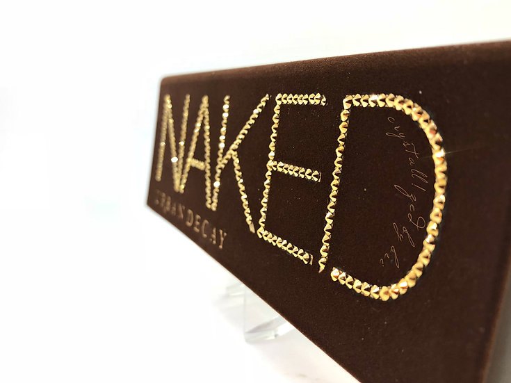 Urban Decay CRYSTALLIZED Naked Eyeshadow Palette - Partial Crystallizing