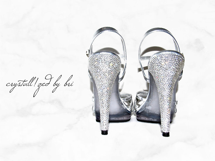 CRYSTALLIZED High Heels - Just the Heels