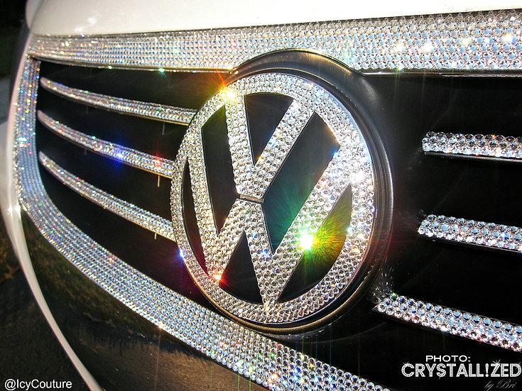 "CRYSTALL!ZED Volkswagen Emblem - 5"""
