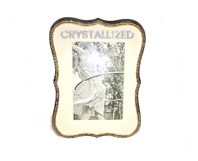 CRYSTALL!ZED Kate Spade Crown Point Picture Frame - Gold