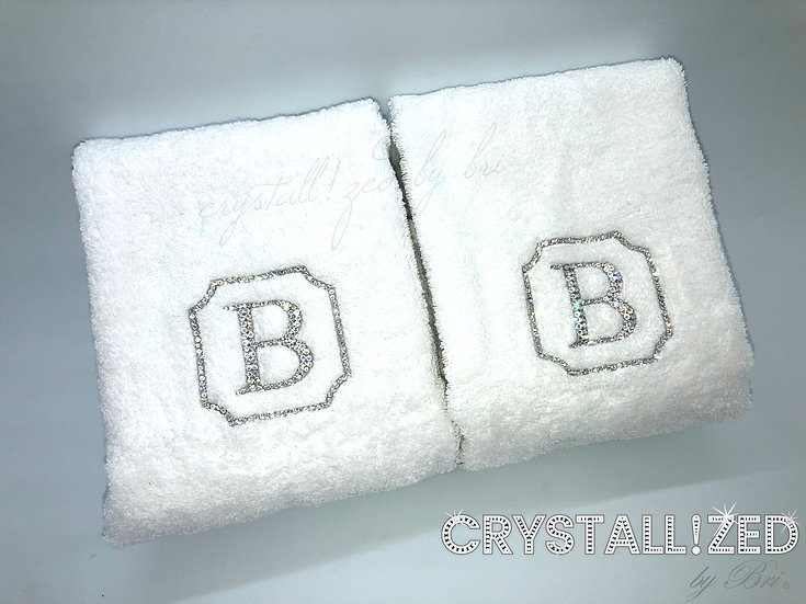 CRYSTALL!ZED Bath Towel - Personalize It!