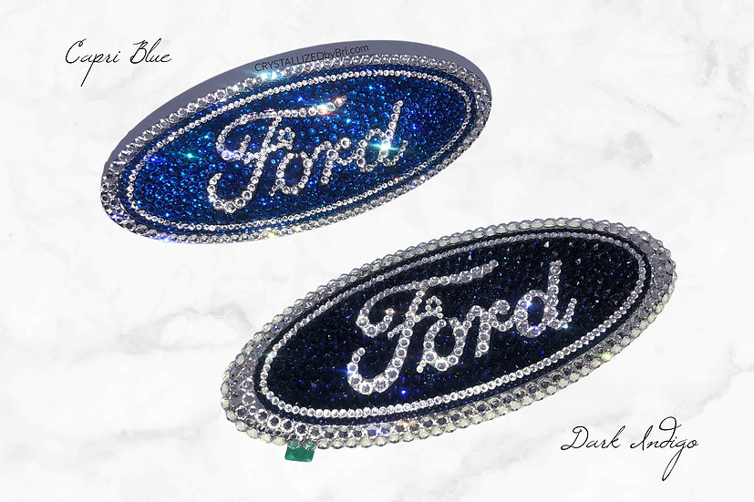 CRYSTALL!ZED Ford Emblem - Front or Rear