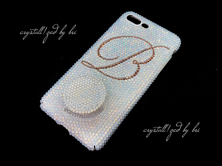 Fully CRYSTALLIZED iPhone Case - Name or Initial