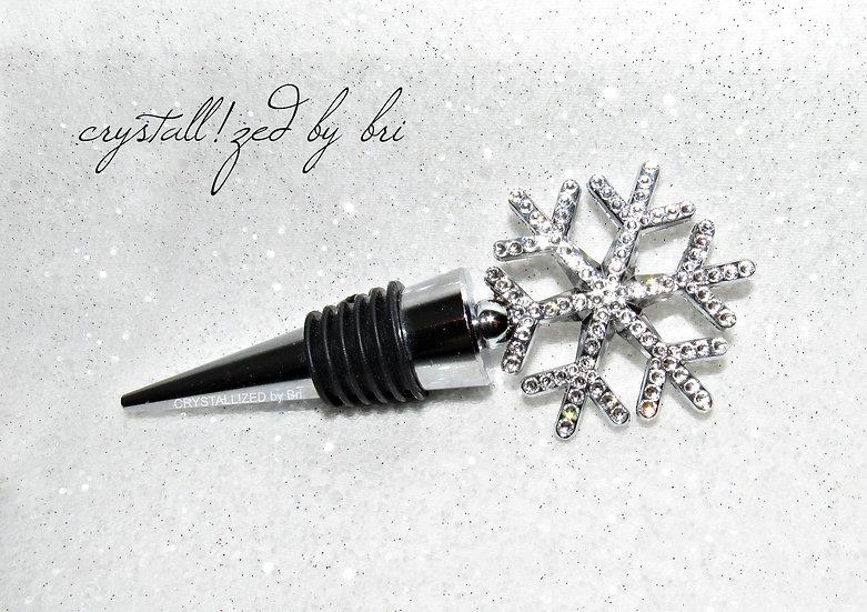 CRYSTALL!ZED Snowflake Bottle Stopper
