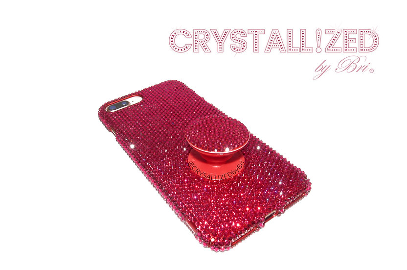 Fully CRYSTALLIZED iPhone Case - Solid Color