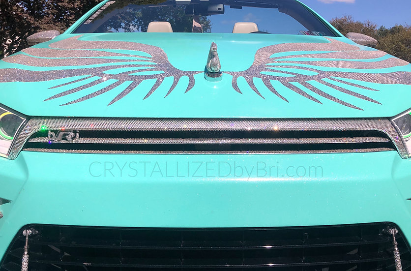 CRYSTALL!ZED Car Grille - Scirocco, Large