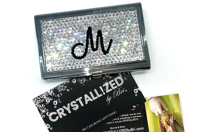 CRYSTALL!ZED Business Card Case