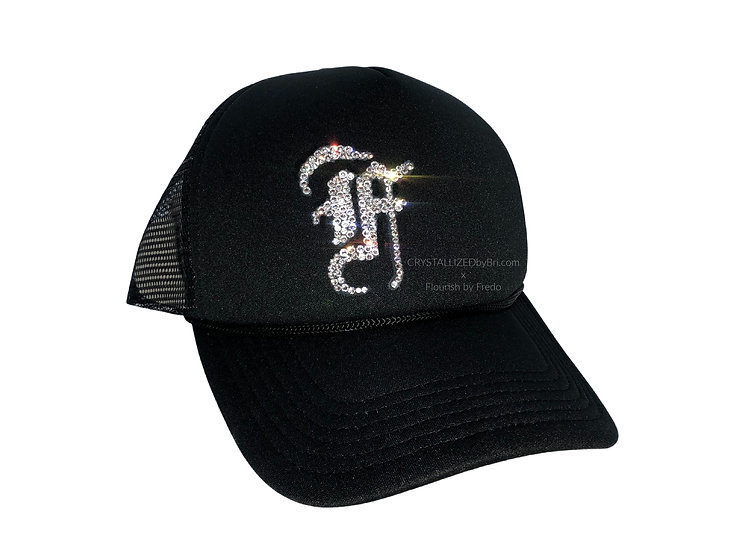 Custom CRYSTALLIZED Hat - Designer Logo