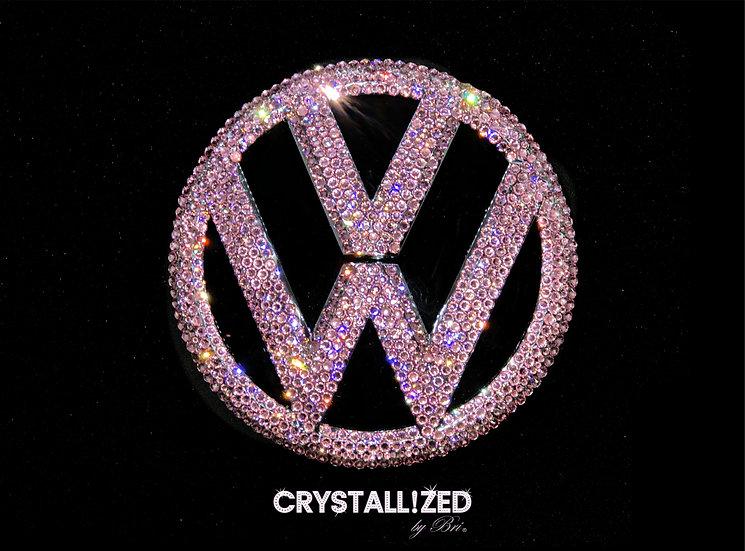 "CRYSTALL!ZED Volkswagen Emblem - 5.5"""