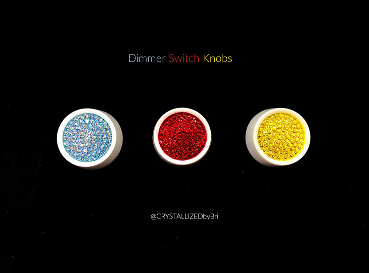 CRYSTALL!ZED Dimmer Switch Knob