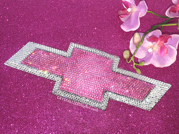 CRYSTALLIZED Chevy Emblem - Any Color