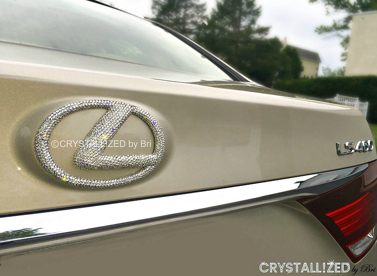 """CRYSTALL!ZED Lexus Emblem - 6"""""""