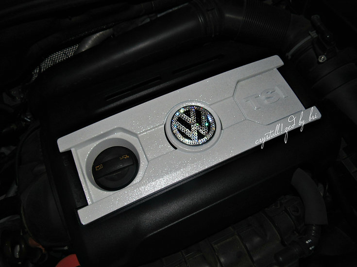 CRYSTALL!ZED Car Engine Cover Plate