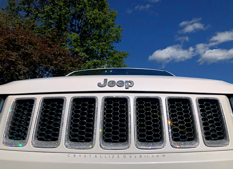 CRYSTALL!ZED Jeep Grille - 7 Inserts