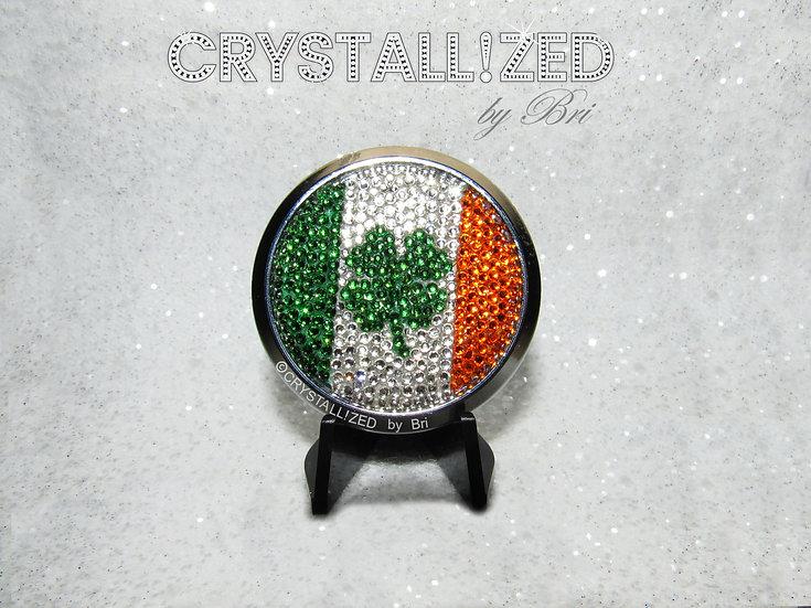 CRYSTALL!ZED Car Round Emblem - Choose Your Flag