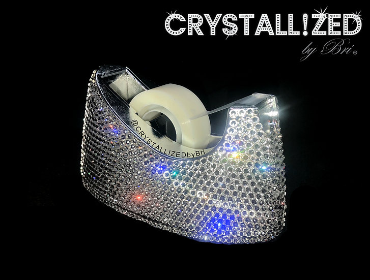 CRYSTALL!ZED Tape Dispenser