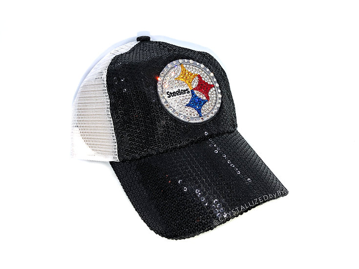CRYSTALLIZED Hat - Pittsburgh Steelers