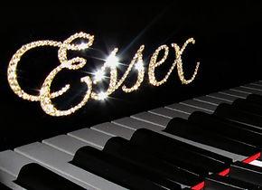 essex steinway bling piano