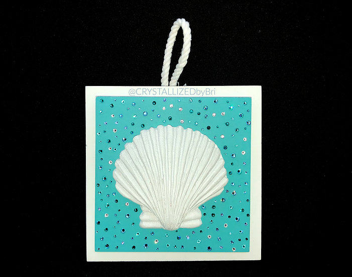 CRYSTALL!ZED Beach Wall Plaque - Sea Shell