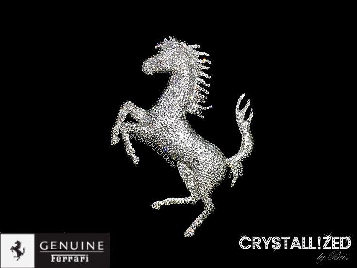 CRYSTALL!ZED Ferrari Emblem
