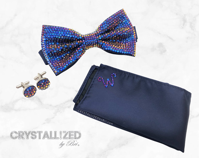 CRYSTALL!ZED Bow Tie Set