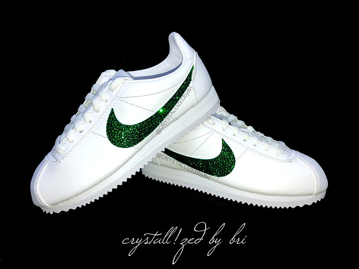 CRYSTALL!ZED Nike's - Classic Cortez