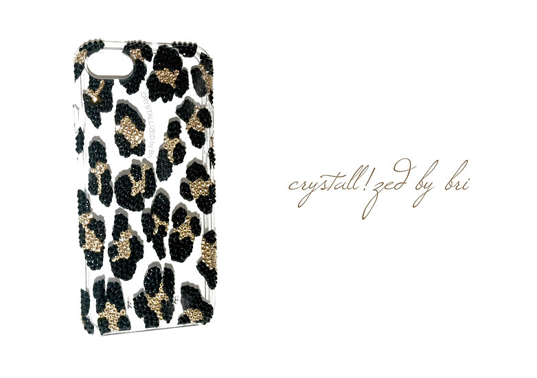CRYSTALL!ZED Leopard Case - iPhone